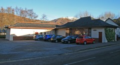 Ballachulish Surgery in the old Railway Station